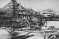 Grodno - wysadzony most kolejowy na Niemnie 1920.jpg