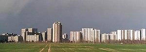 Gropiusstadt - Overview of the Gropiusstadt Complex