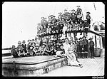 Group of boy scouts and men on board ELGINSHIRE, 1889-1923 (6848188996).jpg