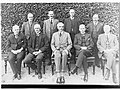 Group photograph of Barwell Ministry - shows G R Laffer, G F Jenkins, T Pascoe, G Ritchie, Sir Tom Bridges, H N Barwell and W Hague(GN03275).jpg