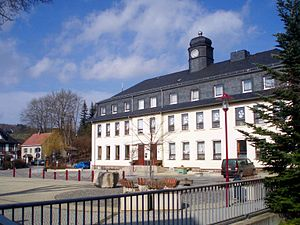 Raschau-Markersbach - Image: Grundschule Raschau