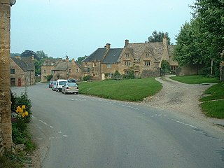 Guiting Power village in United Kingdom