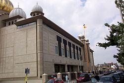 Gurdwara Sri Guru Singh Sabha, Southall, UK.
