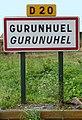 Gurunhuel. Panneau d'agglomération.jpg