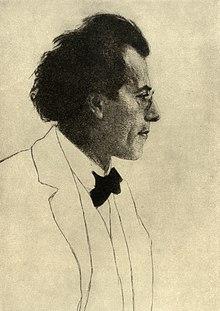 Gustav Mahler (Radierung von Emil Orlik, 1902) (Quelle: Wikimedia)