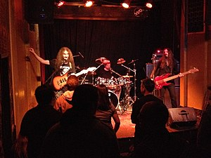 The Aristocrats (band) - The Aristocrats performing live in 2012
