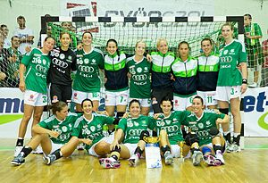 Győri Audi ETO KC - 2011 Szabella European Super Cup winning team