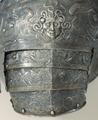 Höger axelpansar till Erik XIVs rustning - Livrustkammaren - 56696.tif