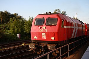 DB Class 240 - The last operational DB Class 240, now owned by and in the livery of the Häfen und Güterverkehr Köln