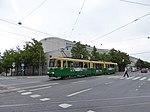 HKL tram line 10 at Töölön kisahalli.jpg