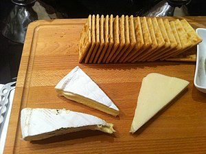 Cheese and crackers - Cheese and crackers