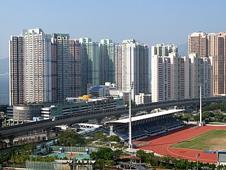 Public housing estates in Ma On Shan - Chung On Estate