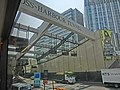 HK Hung Hom 康莊道 Hong Chong Road tunnel bus view 香港海底隧道 Cross-Harbour Tunnel name sign Mar-2013.JPG