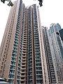 HK TKL 調景嶺 Tiu Keng Leng 建明邨 King Ming Estate 勤學里 Kan Hok Lane March 2019 SSG facades 01.jpg
