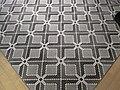 HK TST Chung King 活方商場 Woodhouse floor Carpet mosaic 03.JPG