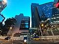 HK WC 灣仔 Wan Chai 黃昏 evening Harcourt Road Lockhart Road via 軍器廠街 One Hennessy June 2020 SS2 13.jpg