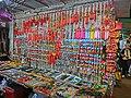 HK Yau Ma Tei 廟衙 夜市 攤販 Temple Street night A2 stall Apr-2013 decor.JPG