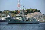 HMAS Sydney arriving at Yokosuka in May 2013.jpg