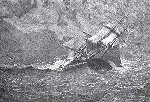 HMS Eurydice (1843) - Victory at Trafalgar