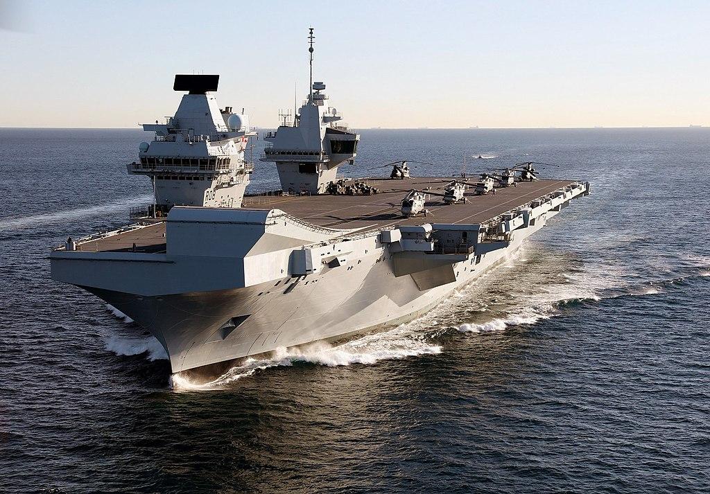 HMS Queen Elizabeth in Gibraltar - 2018 (28386226189).jpg