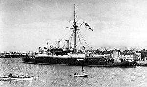 HMS Rodney (1884) port quarter.jpg