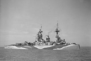 HMS <i>Rodney</i> (29) battleship