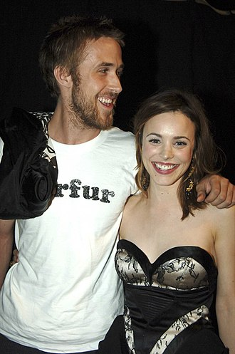 Rachel McAdams - McAdams and Ryan Gosling in 2005