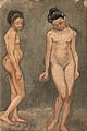 HUGO SIMBERG, STUDY OF A NAKED MODEL.jpg