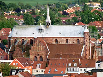 Haderslev Cathedral - The cathedral from the north