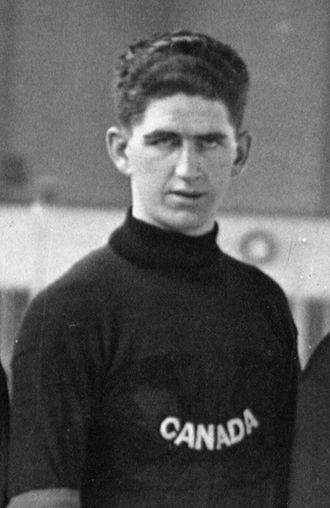 Haldor Halderson - Haldor Halderson representing Canada at the 1920 Summer Olympics.
