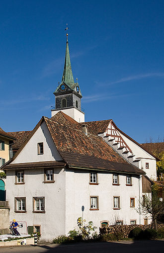Hallau - Village church in Hallau