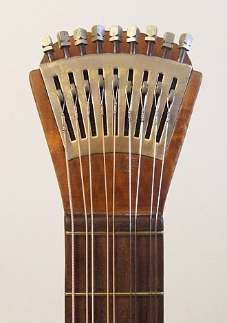 Course (music) - Waldzither courses