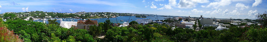 Panorama of Bermuda