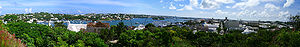 Panorama of Hamilton, Bermuda