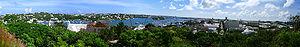 Panorama of Hamilton, Bermuda