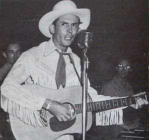 My Favorites of Hank Williams - Image: Hank Williams 1951concert