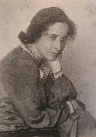 Hannah Arendt - Hannah 1924