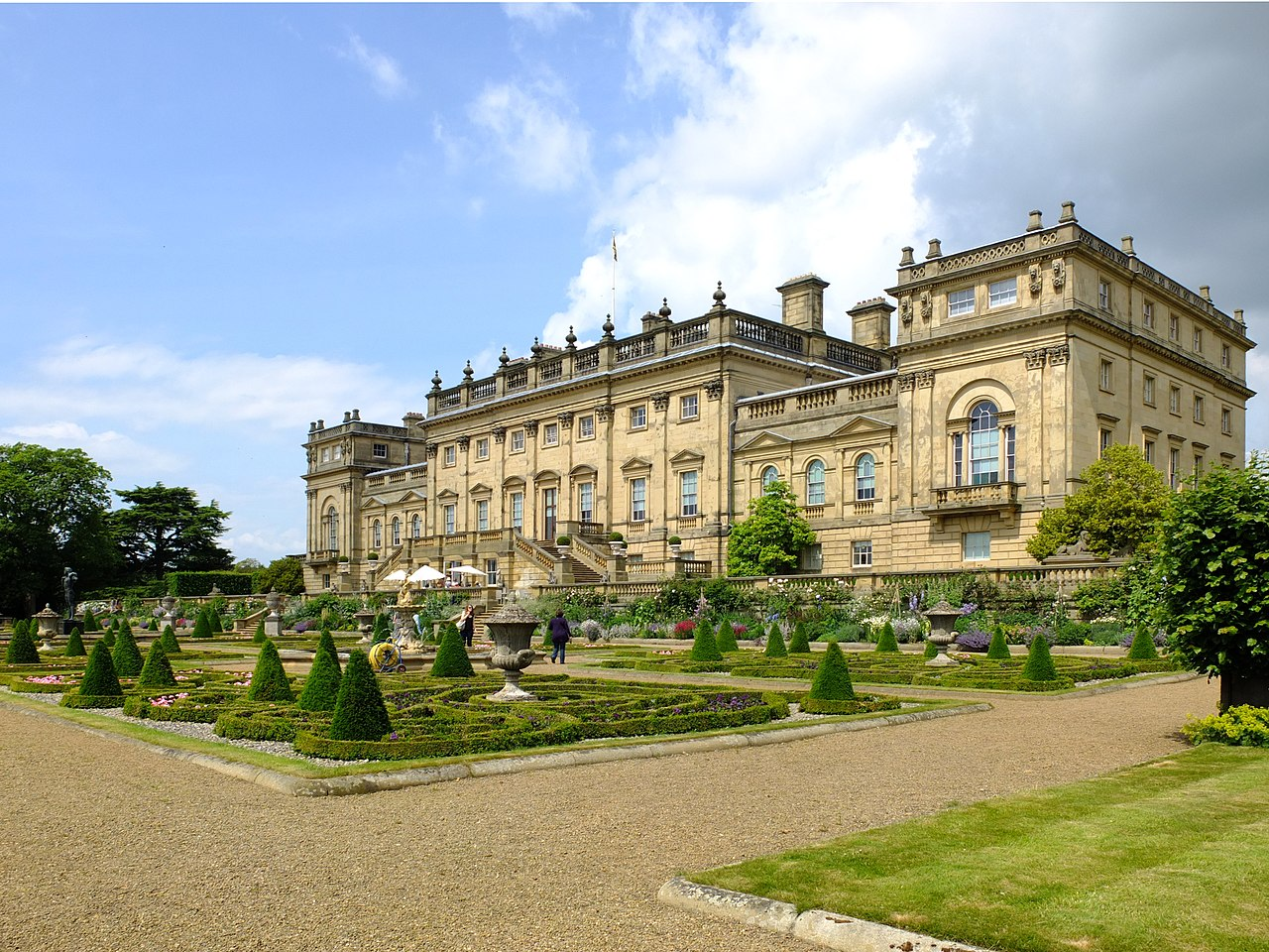 File:Harewood House From The Terrace Garden.JPG