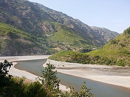 Haro River near the Bhamala complex site, source of water to Khanpur Lake in KPK, Pakistan.jpg