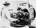 Harriet Burton Laidlaw presenting Dr. Anna Howard Shaw with 'Eastern Victory' 29 June 1915.png