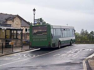 Wright Axcess-Ultralow - Harrogate Coach Travel Wright Axcess-Ultralow at Wetherby Bus Station on 13 September 2010