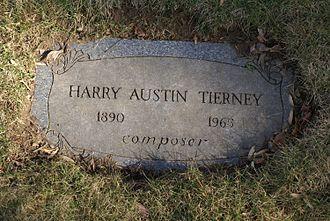 Harry Tierney - Harry Tierney's footstone