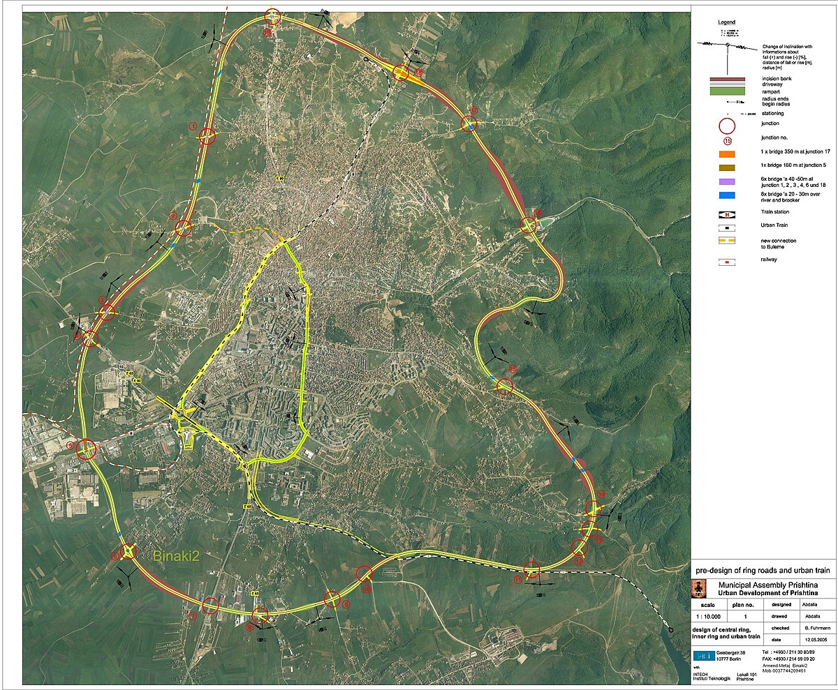File Harta E Unazes Ne Prishtine Panoramio Jpg Wikimedia Commons