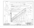 Harvey House, 72-74 McDonald Street, Nanticoke, Luzerne County, PA HABS PA,40-NANTW,1- (sheet 9 of 17).png