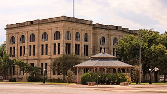Haskell County, Texas - Image: Haskell County Texas Courthouse 2015