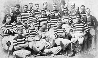Hawke's Bay Rugby Union - The Hawke's Bay team of 1889