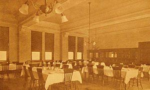 Hays Hall - The Hays Hall dining room
