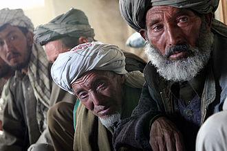 Hazaras - Hazara men in Behsud, August 2008