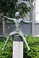 Hedwig Haller-Braus-Spielendes Maedchen 1953.JPG