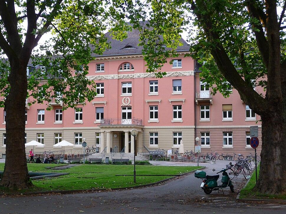 Heidelberg Haupteingang Ludolf-Krehl-Klink